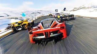 (60fps) DRIVECLUB NORWAY IN TENSE comparison