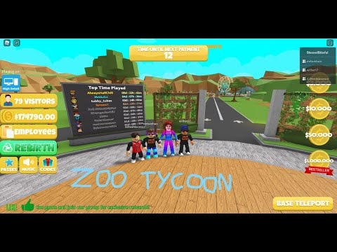 Zoo Tycoon with Fans |