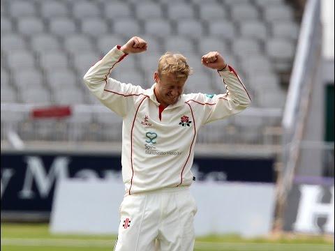 Six wickets on debut for Matthew Parkinson