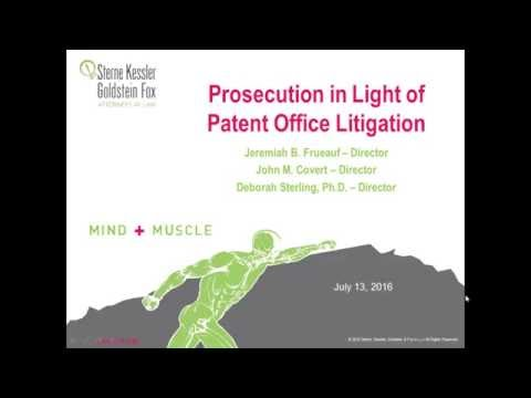 Prosecution in Light of Patent Office Litigation