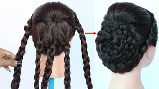 new juda hairstyle with trick || party hairstyles || wedding hairstyles || bridal hairstyle