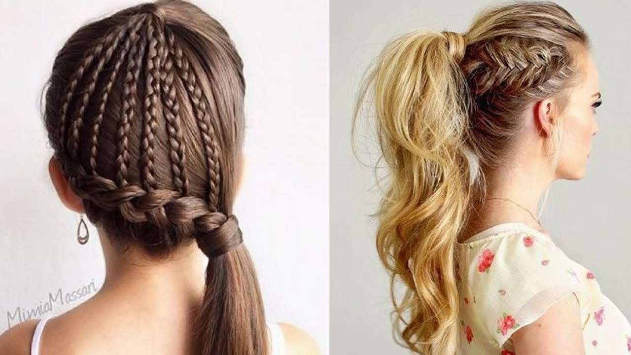Simple Hair Style For Girls Easy Hair Style Hair Style