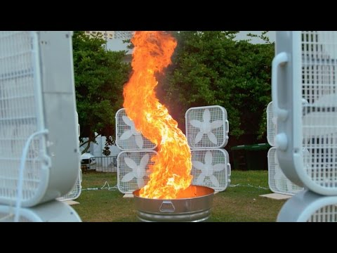 How To Make A Fire Tornado Come To Life | Street Science