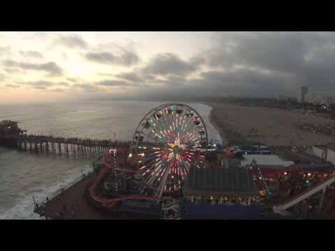 Santa Monica | Beverly Hills | Docwieler Beach | Beach Drone