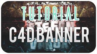 [Tutorial] #1 | Cinema4D & Photoshop Banner erstellen | by Vanox