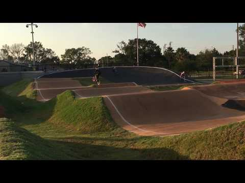 Oldsmar BMX riding with Will Grant and Jeremy Smith