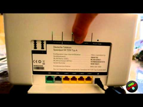 What Is Gap >> Speedport W723V - Unboxing - YouTube