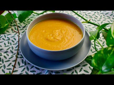 soupe-de-courge-butternut-et-aux-lentilles-healthy-شوربة-القرع-الأحمر-صحية-بالخضر-و-العدس