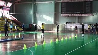Женская команда ГК Гомель  Тренировка от 28 02 17