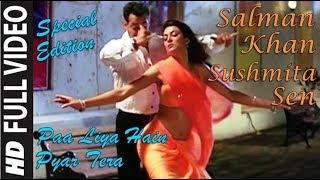 Paa Liya Hain Pyar Tera    Salman Khan   Sushmita Sen   1080p HD Video Song   Udit   Alka