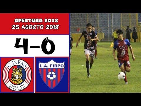CD FAS [4] vs. Firpo [0] FULL GAME: 8.25.2018: ES Apertura 2018