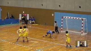 5日 ハンドボール女子 国体記念体育館Cコート 玉野光南×日大山形 1回戦 1