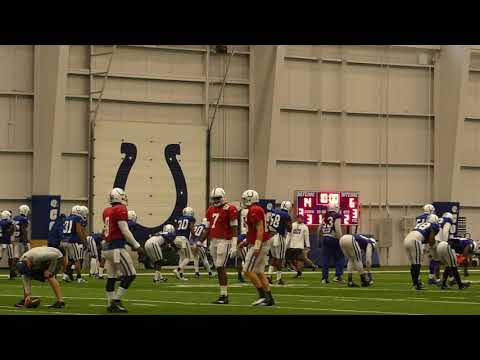 Andrew Luck 10/12 Practice Highlights | Kevin Bowen 1070 The Fan