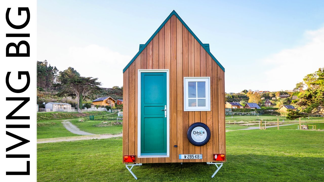 Mind Blowing Ultra Compact Eco Tiny House Youtube