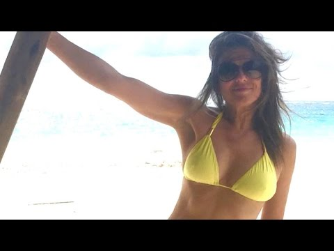 Elizabeth Hurley Goes Topless In Latest Bikini Pic