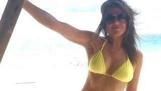 Elizabeth Hurley Goes Topless In Latest Bikini Pic