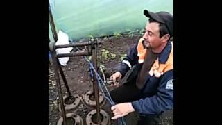 ручной станок для намотки верёвки (шпагат)