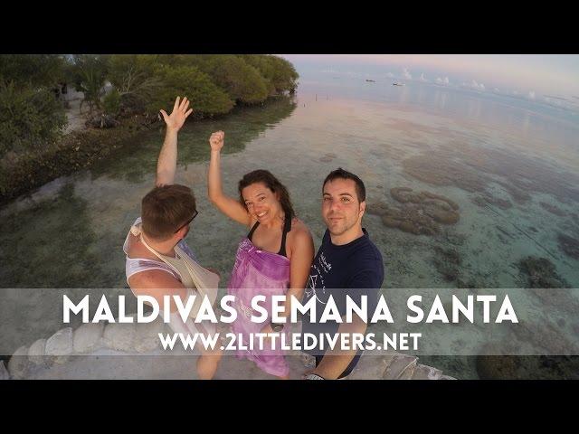 2 Little Divers |  Maldivas Semana Santa 2015