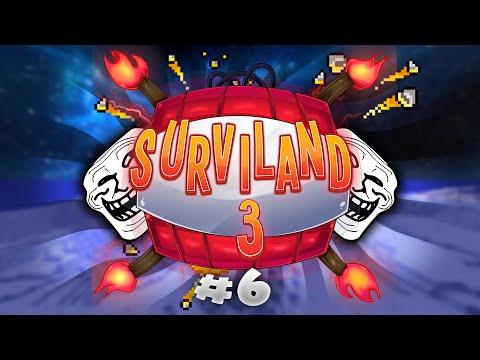 LA LECHE DE HARDY | SURVILAND 3 - Minecraft Serie Troll Ep.6