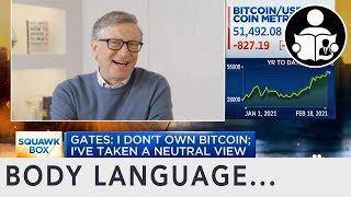 Body  language of the psychopath bill gates