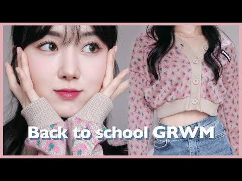 (eng) 개강날엔 핑크호피를 입Za 💓 러블리 캐주얼룩 같이 준비해요! Lovely Casual Look : Back To School GRWM  | Minjeong Park