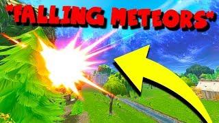 *NEW* METEORS ARE LANDING in FORTNITE: Battle Royale