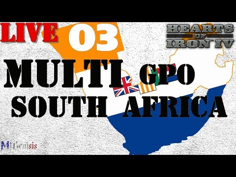 [LIVE] Hoi4 - GPO South Africa #03