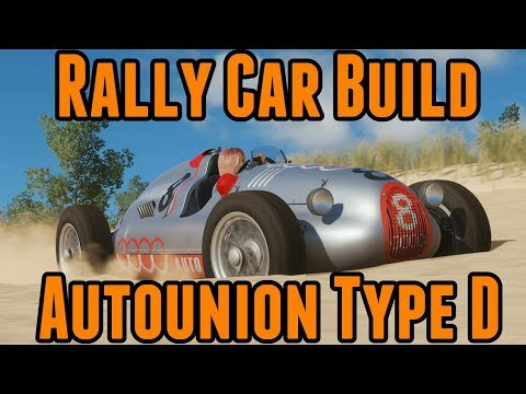 Forza Horizon 4 - Rally Car Build - Autounion Type D thumbnail