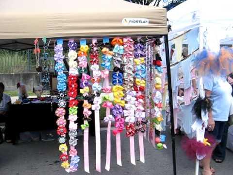 Fall fiesta downtown orlando florida boutique hair bows for Vendor craft shows near me