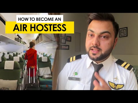 How To Become An Air Hostess | Cabin Crew | YASify