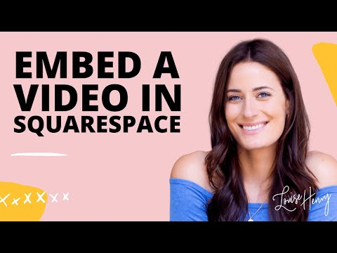 How to Embed  in Squarespace
