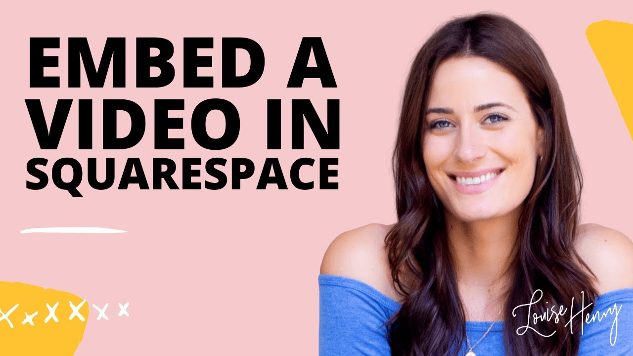 How to Embed Video in Squarespace