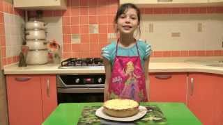 Песочный пирог с творогом и изюмом ★ Latvian sand cake with cottage cheese