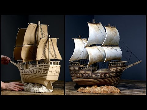 ❣DIY Pirate Ship Using Cardboard❣