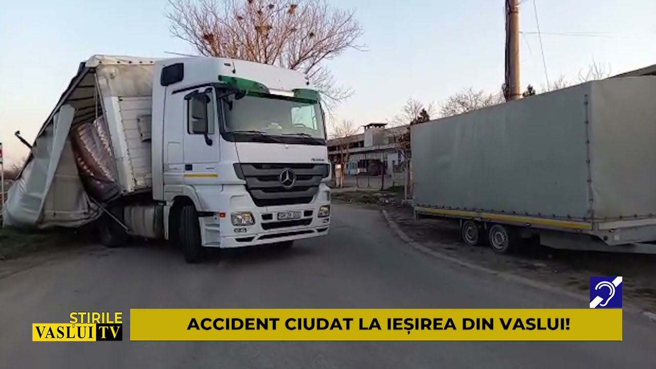 Download ȘTIRE ACCIDENT CIUDAT LA IESIREA DIN VASLUI!
