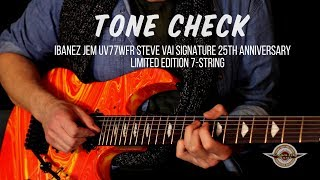 For this truly unusual signature Steve Vai 7-string, we wanted to t...