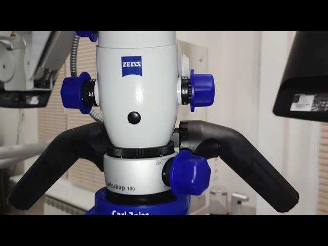 Лечение кариесов под микроскопом