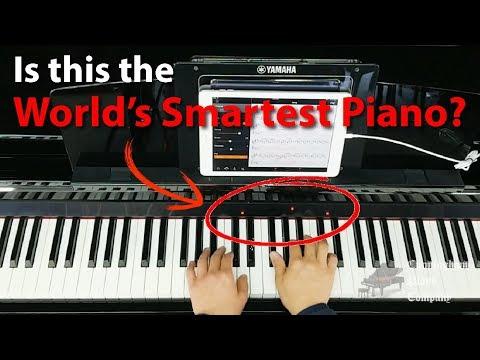 The Yamaha CSP-150 Clavinova Smart Piano = Instant Sheet Music From Any Audio File!
