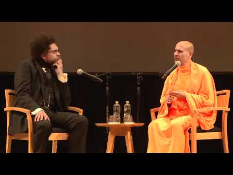 Radhanath Swami and Dr. Cornel West - 1