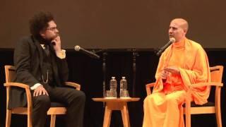 Radhanath Swami and Dr. Cornel West - 1