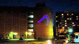 Robolight Outdoor Ethernet - Уличный лазерный проектор для рекламы  с беспроводным управлением