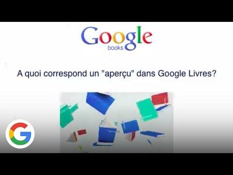 Apercu Des Livres Sur Google Livres Google France Youtube