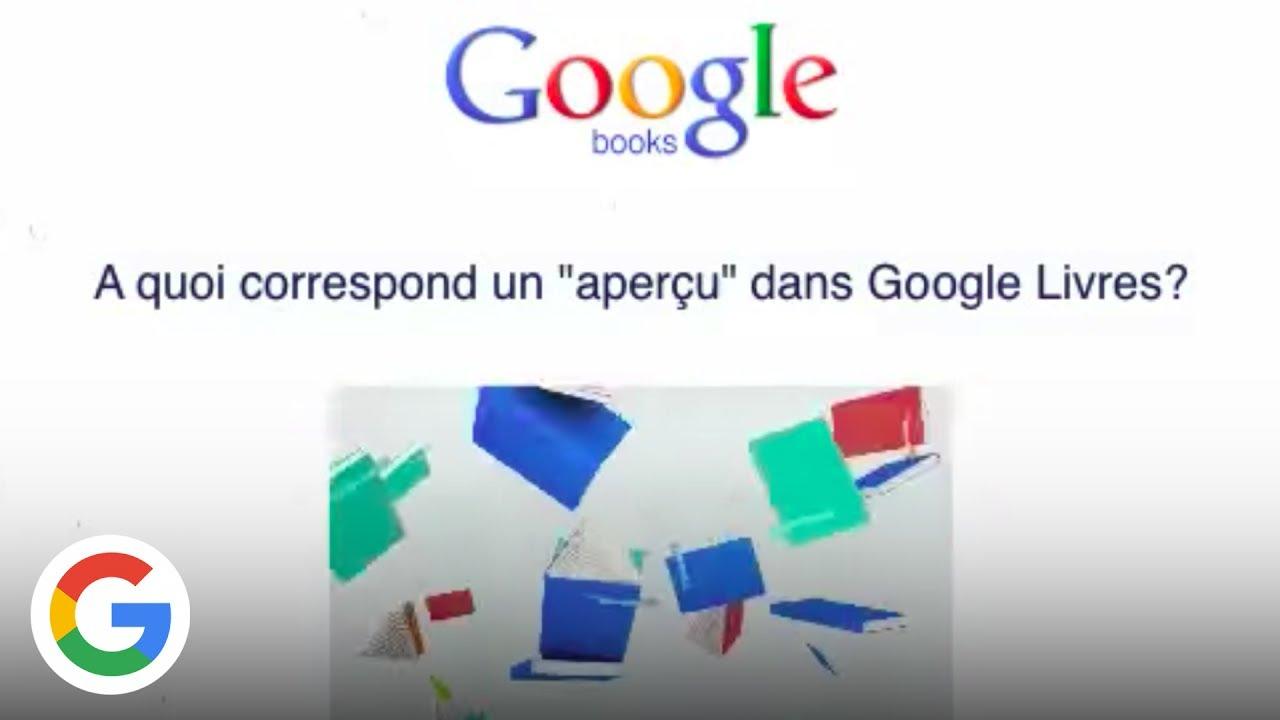 Apercu Des Livres Sur Google Livres Google France