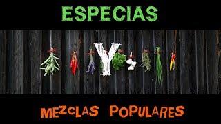 Especias y Mezclas Populares