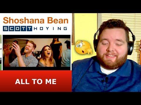 Scott Hoying and Shoshana Bean | All To Me | Jerod M Reaction