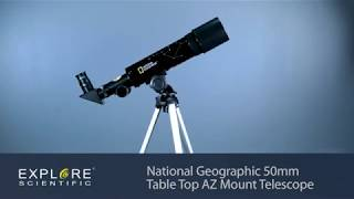 National Geographic 50mm Table…