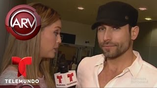 Al Rojo Vivo | Rafael Amaya habla de ruptura amorosa con Angélica Celaya | Telemundo ARV