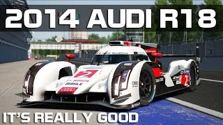 Assetto Corsa - 2014 Audi R18 E-Tron (Ready to Race DLC)