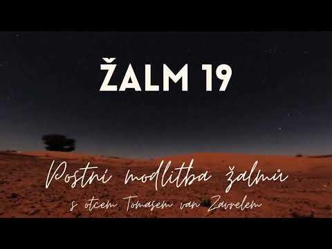 Žalm 19 - postní modlitba