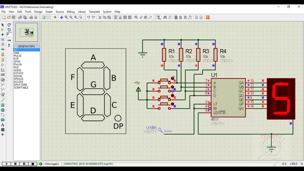 7-Segment Display Driver for Multiple Digits (VHDL ...
